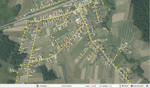 GPS mapiranje (GIS mapiranje)